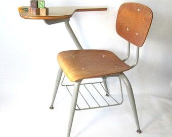 School Desk Metal - Adult Sized