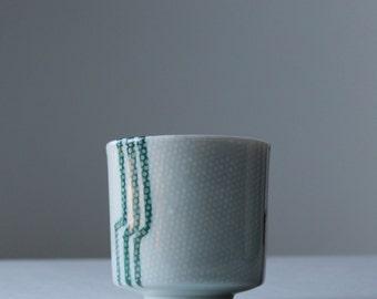 sake cup made in Japan minimal mid century