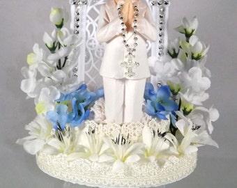 Communion Cake Topper, Item# Com-03-004