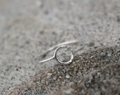 Circle Sterling Silver Ring