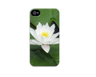 Lotus flower iphone 6 case, Unique iphone 4 case, Water Lily iphone 5 case, Floral iphone se case, iphone 6 case, zen iphone case, womens