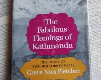 Vintage Book, The Fabulous Flemings of Kathmandu