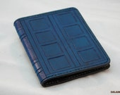 Leather A5 Notebook Cover - River Song Journal