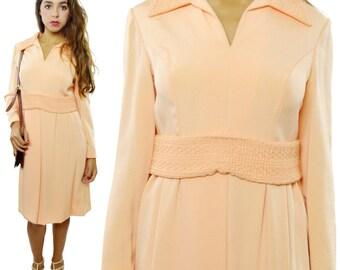 Vintage 60s Menger Smart Shops San Antonio Evening Cocktail Gown Dress