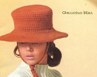 El Gaucho Hat - Crochet Hat Pattern
