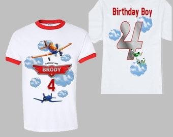 Planes Birthday T-Shirt - Disney Planes Shirt