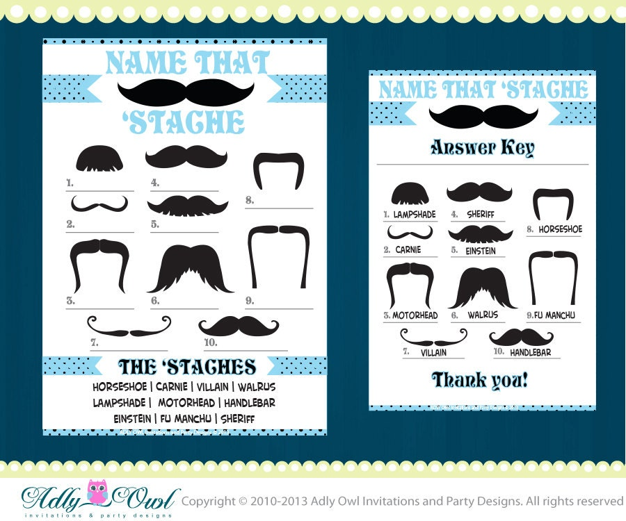 name that  u0026 39 stache game mustache game for boy baby