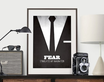Mad Men - Don Draper - Fear stimulates my imagination.
