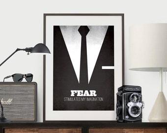 Mad Men - Don Draper - Fear stimulates my imagination.