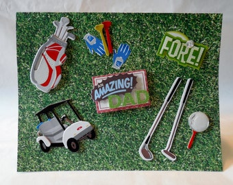 An Amazing Golf Dad - Father's Day Card
