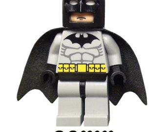 Lego Batman Birthday Personalized Iron On Transfer - DIY No Sew