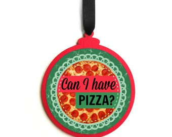 Pizza ornament | Etsy