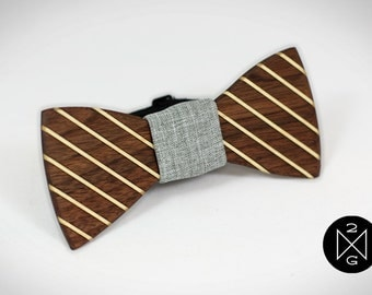 """Wood Bow tie """"Marion"""""""
