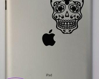 Sugar Skull iPad Decal