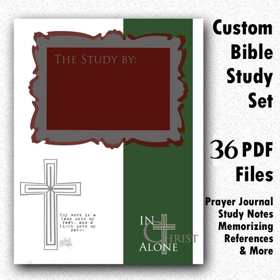Bible Study Reference: Items Similar To Custom BIBLE Study Notes And Prayer
