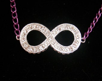 LIMITED EDITION Infinity Symbol Necklace or Bracelet