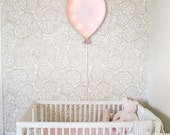 Vintage Inspired Marquee Light- Balloon, home decor, lighted baloon, kids room, marquee light, shape, vintage, wall art