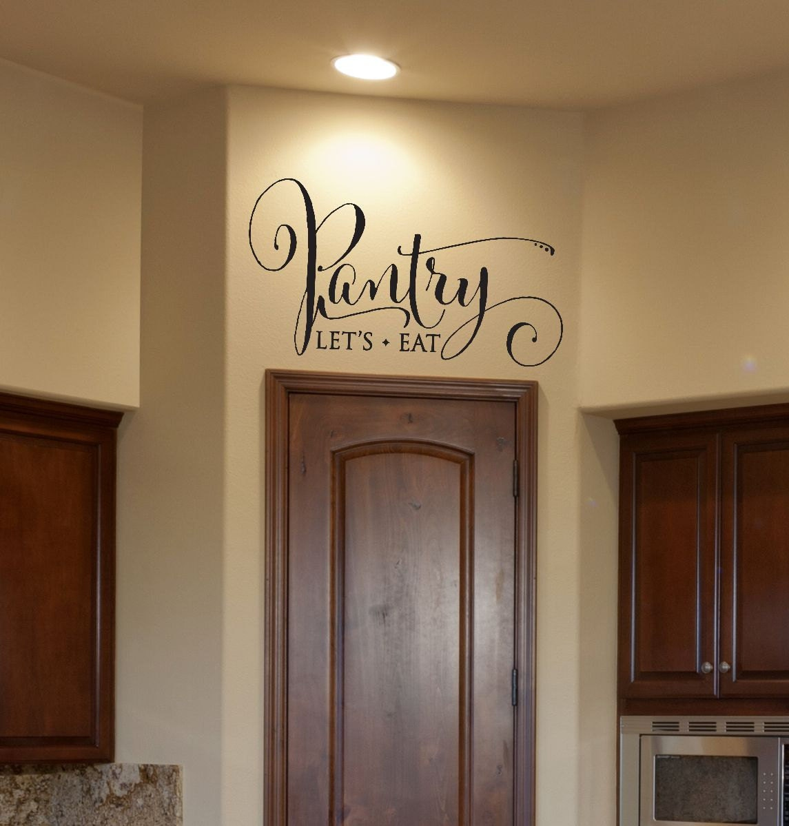 Bedroom Door Signs Kitchen Decor Pantry Decal Pantry Sign Pantry Wall Decal