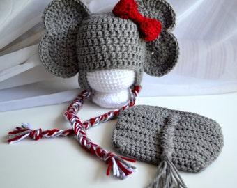 Free Crochet Pattern For Elephant Ears : Gallery For > Crochet Elephant Ears