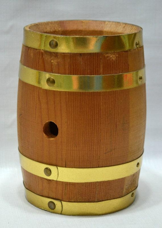 Vintage Wooden Barrel 79