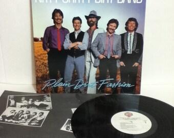 Nitty Gritty Dirt Band Plain Dirt Fashion Vintage Vinyl 33 Record Album LP 1984 Warner Brothers 25113