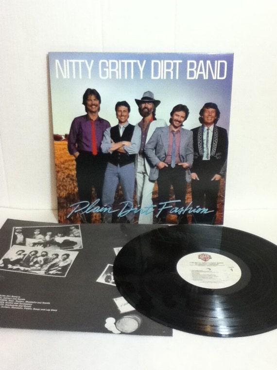 Nitty Gritty Dirt Band Plain Dirt Fashion Vintage Vinyl 33