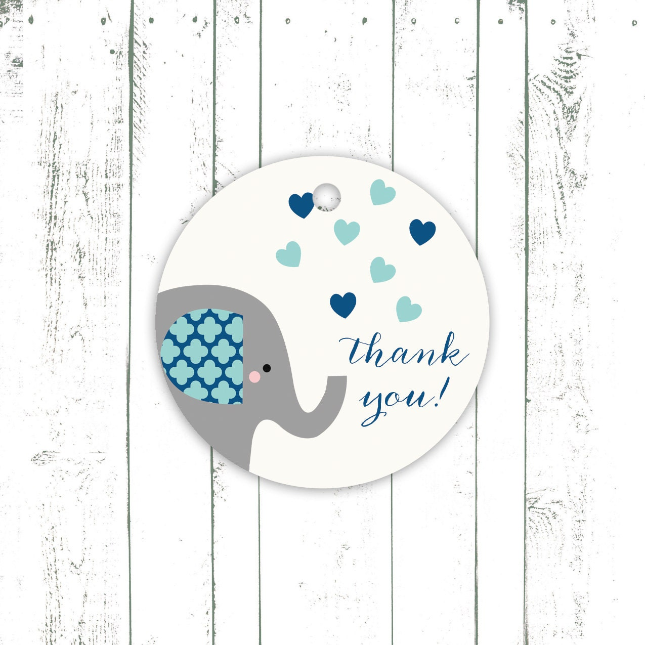 baby shower favor tags elephant baby shower by mooseberrypaperco
