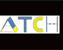 Dog Agility Car Magnet ASCA Champion Title ATCH