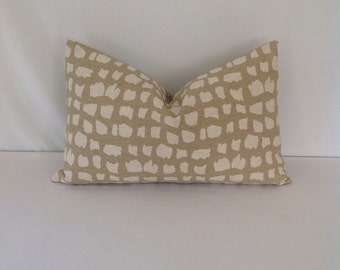 Thibaut Animal Print Lumbar Pillow Cover