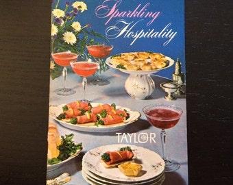 Sparkling Hospitality Taylor Wine Cookbook