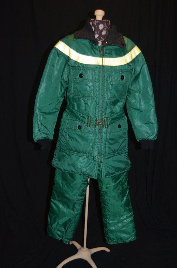 Vintage Snow Suit 117