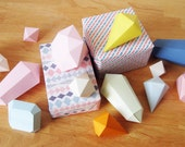 Download Paper Crystal Templates