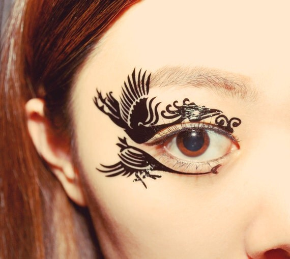 Eye makeup tattoos