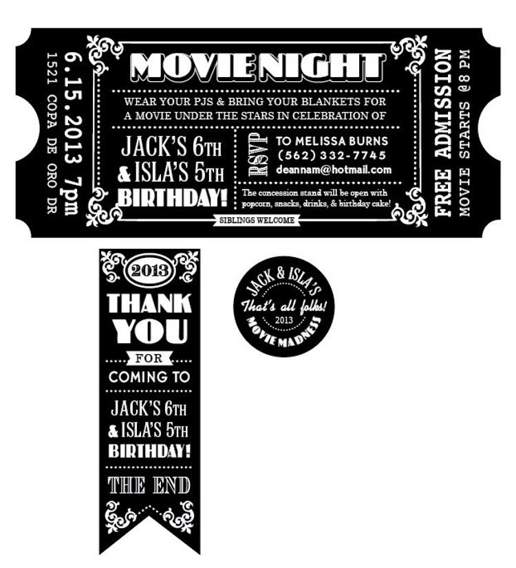 It's just a photo of Remarkable Printable Movie Tickets