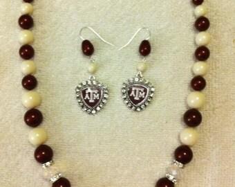 For the Team Fan! Custom School Spirit Jewelry