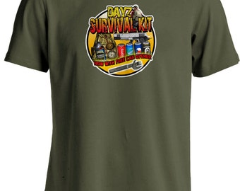 Dayz Game - Zombie Survival Kit T-shirt