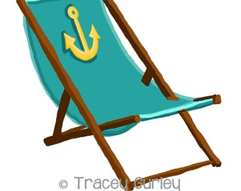 Adirondack Chair Clip Art Beach chair clip art Adirondack Beach Chair Clip Art