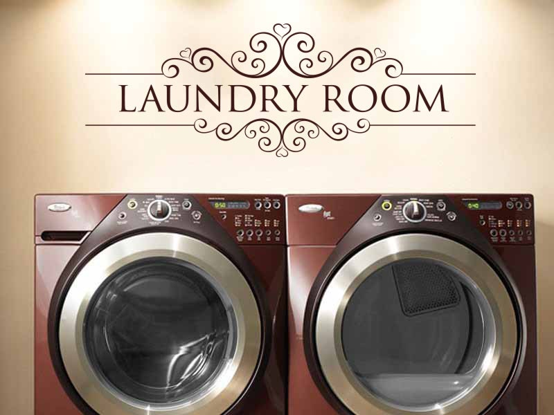 Https Www Etsy Com Listing 163326131 Laundry Room Vinyl Wall Decal