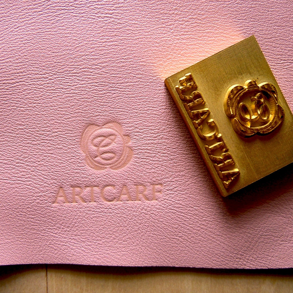 Diy Heat Embossing Leather: Custom Branding Iron Leather Stamp Wood Stamp Embossing