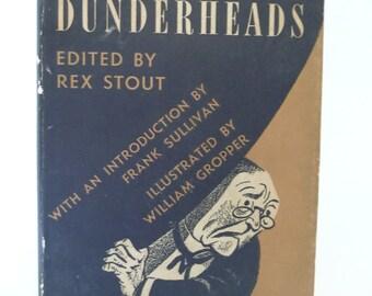 "Antique 1942 ""The Illustrious Dunderheads"" Book"