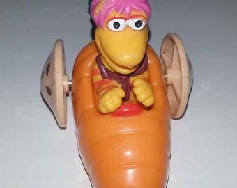 Fraggle Rock Gobo Toy - vintage carrot car Hensen