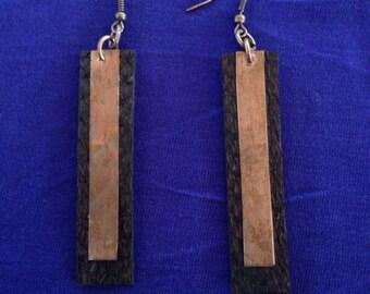 Palito Earrings- CHOCOLATE