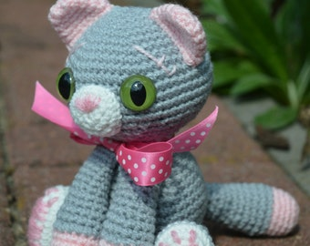 Crochet Pattern - Figaro the Kitty