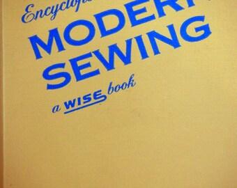 Encyclopedia Of Modern Sewing Vintage Hardcover Sewing Book 1952