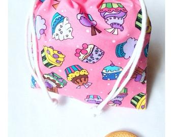 Snack bag. Cupcakes. Garment bag. Diaper bag. Toddler backpack.