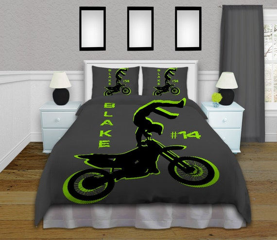 personalisierte motocross kuschel von eloquentinnovations. Black Bedroom Furniture Sets. Home Design Ideas