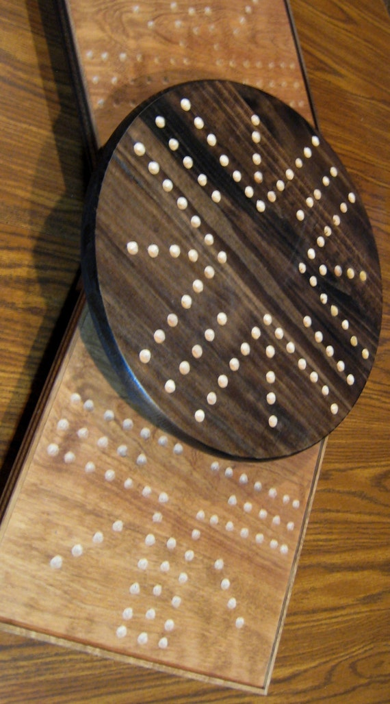 Beautiful Wooden Marble Aggravation Game Board Wooden Game Boards ...