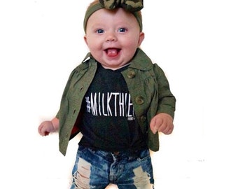 Swagga Jeans - Jeans for Baby - Pants for Baby - Unique baby outfit - Baby Fall Outfit - Baby Winter Outfit - Ripped Jeans