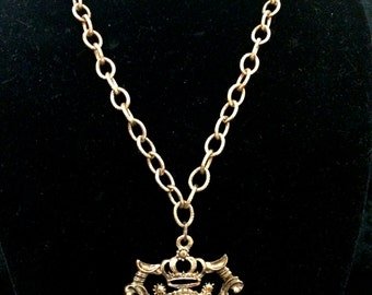FREE SHIPPING1950's Mr.JohnNever UsedEmperor of FashioPendant Necklace