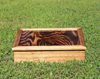 Handmade wooden box for Jewelry or Storage